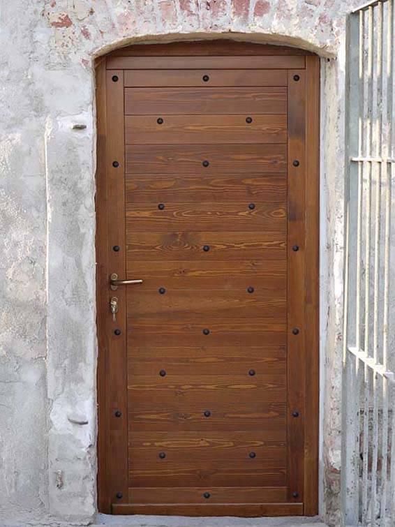 portoncino in legno
