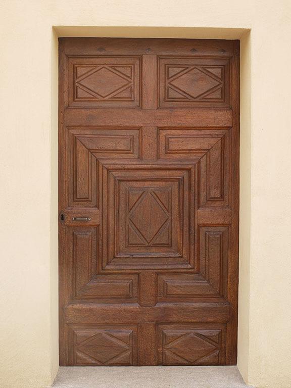 porta restaurata