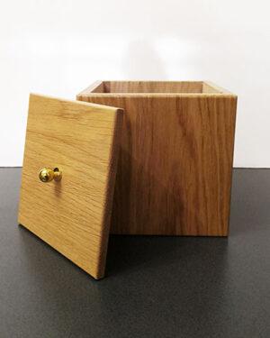 Scatole contenitori in legno